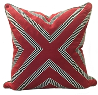 Breeze Scarlet Pillow