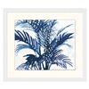 Indigo Palm Shadows 1