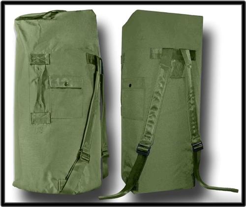 GI Double Strap Type II Duffel Bag- OG 1a856a6c6ecf