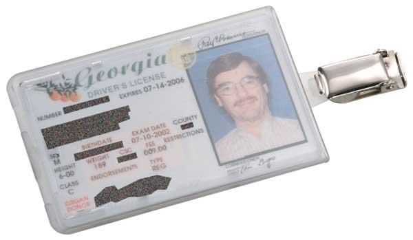 id badge access card holder