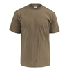 Soffe Short Sleeve T-Shirt- Tan 499