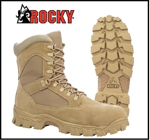 Rocky AlphaForce Desert Tan Boots