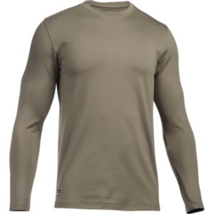 under armour long sleeve. under armour tac coldgear infrared crew neck, long sleeve n
