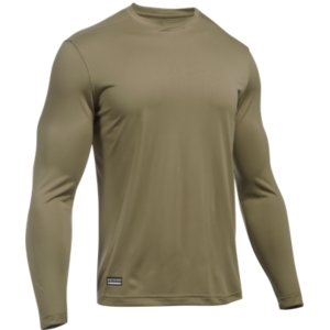 Under Armour Tac Tec Long Sleeve Tee - Tan 499 871ac2da7