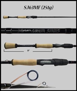 "SJ63MF 6'3"" Medium Fast Spinning Rod"