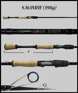 "SJ63MHF - 6'3"" Medium Heavy Fast Spinning Rod"