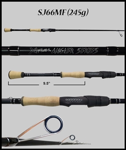 "SJ66MF - 6'6"" Medium Fast Spinning Rod"