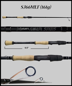 "SJ66MLF - 6'6"" Medium-Light Fast Spinning Rod"