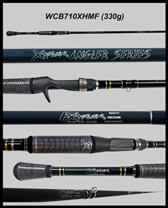 "WCB710XHMF - 7'10"" Xtra-Heavy Mod-Fast Cranking-Blended Graphite-Casting Rod"