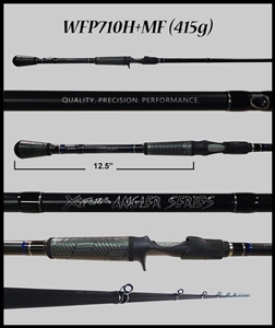 "WFP710H+MF 7'10"" Heavy-Plus Mod-Fast Casting Rod"