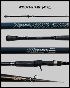 "WMB710H+MF - 7'10"" Heavy-Plus Mod-Fast Casting Rod"