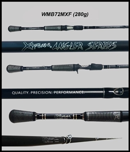"WMB72MXF - 7'2"" Medium Xtra Fast Casting Rod"