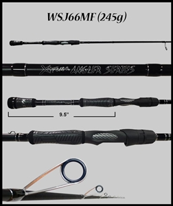 "WSJ66MF - 6'6"" Medium Fast Spinning Rod"