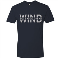 Windsurfing t-shirt navy