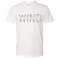 Windsurfing t-shirt white