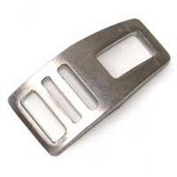 Streamlined Stainless Clip for Strap-On Boom Head