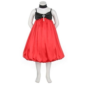 Red/Black Special Occasion Dress