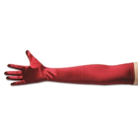 Ladies Satin Gloves