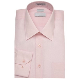 Boys Dress Shirt Short Sleeves: BLUSH PINK