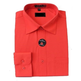 Boys Dress Shirt - CORAL