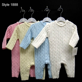 1888 Romper Cotton Knit Romper
