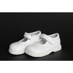 Baby Girls Shoes - White