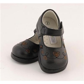 Baby Girls Maryjane Shoes - Matte Black