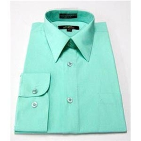 Long Sleeve Dress Shirt - Mint