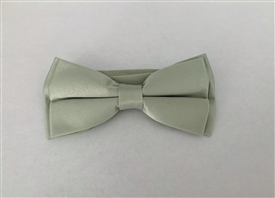 Boys Satin Bowtie - Sage Green