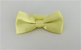 -Boys Satin Bowtie - YELLOW