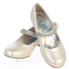 Ivory Flower Girls Dress Shoes