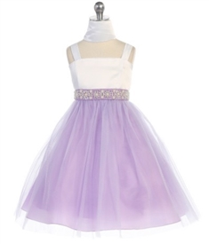 Nora Special Occasion Dress - LILAC -