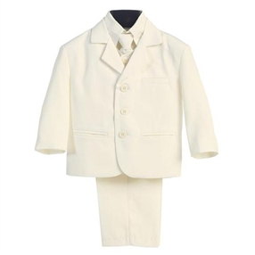 Charlie - Ivory Boys 5pc suit