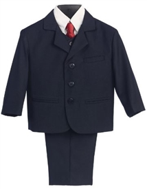 Charlie - 5pc Navy Boys suit