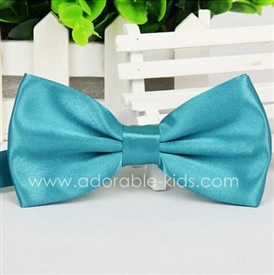 Silky Satin Bowtie - TIFFANY BLUE