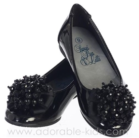 Black Patent Shoes for Girls - Anna