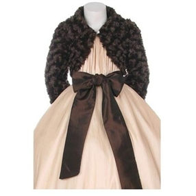 Brown - Rose Fur Jacket