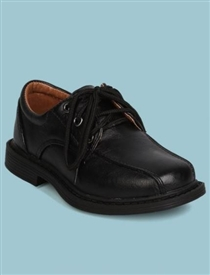 Ricky Boys Dress Shoes - Black