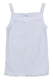 Girls Undershirt - WHITE