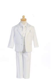 Austin  Baby & Boys Suit - white