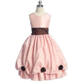 Blossom - Pink Flower Girl Dress