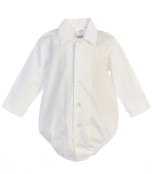 Onesie Dress shirt: IVORY -