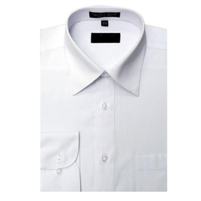 Boys White Dress Shirt - longsleeves