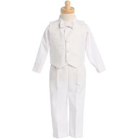 Joseph white baptism outfit