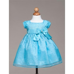 Becky Baby Dress - Turquoise