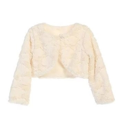 Jacket Faux Fur: IVORY