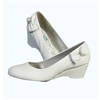 White Flower Girls Dress Shoes