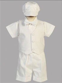 Dexter Boys White ShortTuxedo