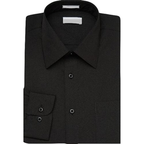 Long Sleeve Black Dress Shirt