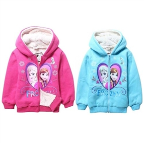 Frozen inspired Lined Hoodie